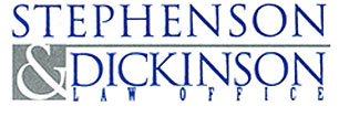 Home Stephenson and Dickinson Law Office • Contact Us